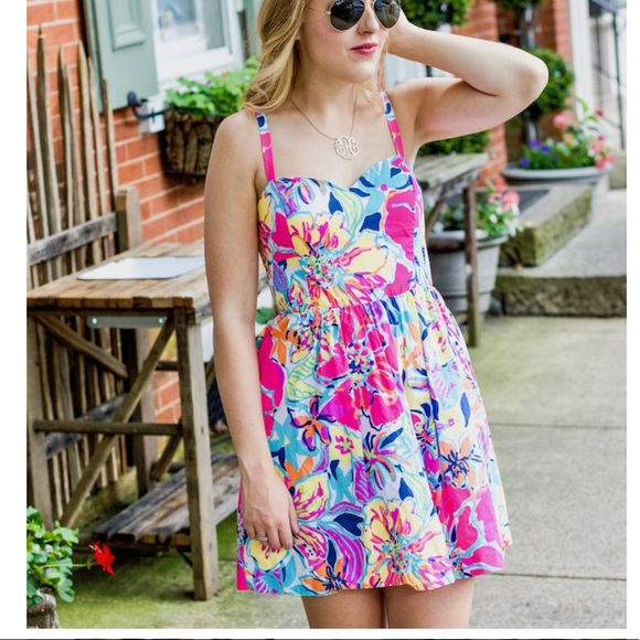 1cc0bfeab8a204 Lilly Pulitzer Dresses & Skirts - Lilly Pulitzer Christine Dress Multi Besame  Mucho